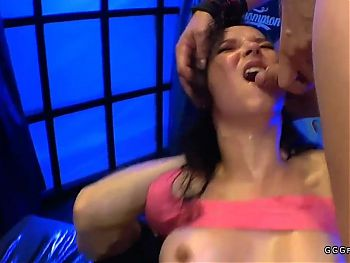 Bukkakes airtight and pile driver on francys belle