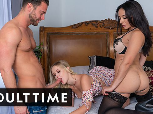 Husband Has A Wild Threeway With His Wife And Mistress