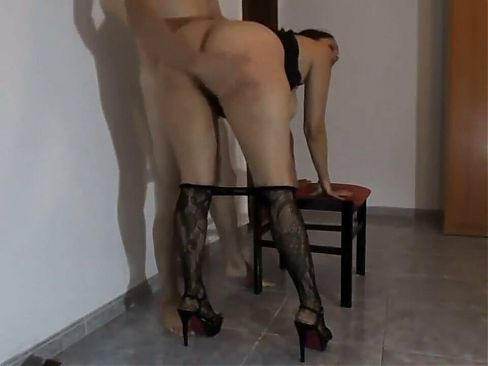 She is spanked and fucked in her mouth